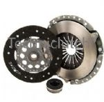 3 PIECE CLUTCH KIT INC BEARING 228MM AUDI 100 2.0 E